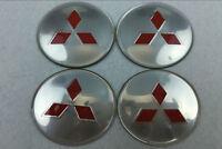 4pcs 65mm Wheel center Hub Sticker Cover Caps Logo Emblem Fit for Mitsubishi