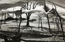Edouard BOUBAT:  Tentes sur Plage, Mexique, 1978 / Silver print / SIGNED!