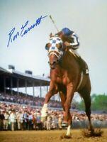 Secretariat photograph signed Ron Turcotte autograph Kentucky Derby  TC 1973