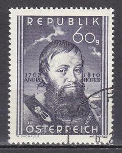 AUSTRIA used 1950 SC# Nr 569 Andreas Hofer - Patriot