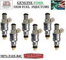 Ford E-150 Econoline Club Wagon 4.9L I6 Fuel Injectors 6/pack OEM Ford #F1ZE-B4C