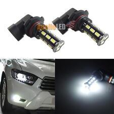 2pcs HID Diamond White 9005 18-5630-SMD LED Bulbs for Car Fog DRL Daytime Lights