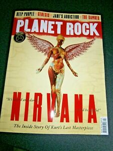 Planet Rock Magazine Issue 22 (new) 2020  Nirvana Final Issue