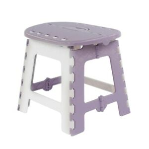 Thick Folding Stool with Handle Portable Folding Step Stool Small Travel Stool