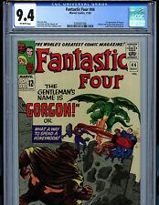Fantastic Four #44 CGC 9.4 NM Marvel Comic Amricons 1st Gorgon K18
