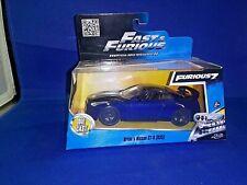 2015 Fast & Furious 7 Brian's Nissan GT-R (R35) Dark Blue Diecast 1:32 Scale