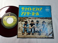 "BEATLES THE NIGHT BEFORE/ANOTHER GIRL 45 7"" JAPAN APPLE ORIGINAL RED WAX AR-1430"