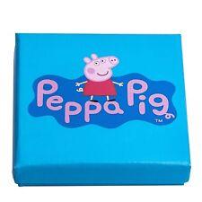 Solid Sterling Silver Peppa Pig Design Expandable Baby Kids Bangle Bracelet 925