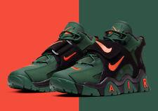 Nike Air Barrage Mid SuperBowl Green Orange Super Bowl LIV CT8453 300 Miami
