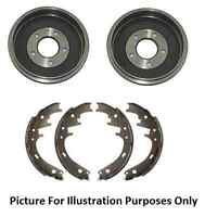 Fiat 500+Fiat Panda 1.1 1.2 1.3D 1.4 (169) 03> Rear Brake Drum & Shoes Non ABS