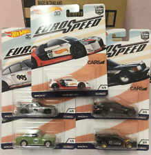 2018 HOT WHEELS CAR CULTURE ~ EURO SPEED (1/5) (2/5) (3/5) (4/5) (5/5) Full Set