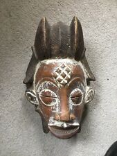 Old African Wood Face Mask From Connecticut Estate No Reserve