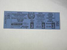 1972 A's at Detroit Tigers Game 3 ALCS Baseball Full Ticket Al Kaline Joe Niekro