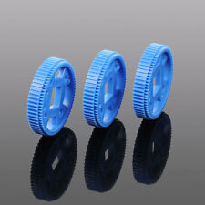 XYCL0104 10pcs Plastic 64T MXL Gear Module 0.5 For Track Robotic Car Toy Model
