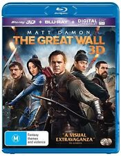 The Great Wall 3D (2-Disc Set) : NEW 3-D Blu-Ray
