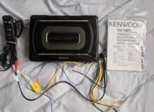 Kenwood KSC-SW11 150 W Subwoofer Activo UNDERSEAT con Radiador Pasivo