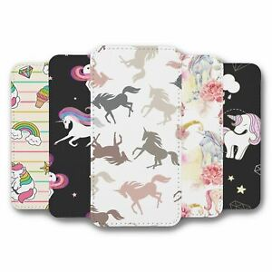 For iPhone 12 Pro Max Flip Case Cover Unicorn Collection 12