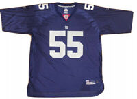NFL NY Giants #55 LaVar Arrington On Field Jersey Reebok XXL