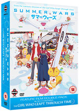 SUMMER WARS & THE GIRL WHO LEAPT THROUGH TIME - DVD - REGION 2 UK