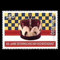 Austria 2016 - 400th Anniv of the Austrian Archducal Hat Royalty - Sc 2599 MNH