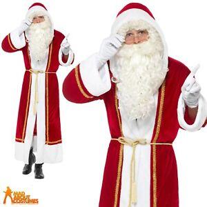 ADULT COOL SANTA COSTUME SET Fun Christmas Santa Claus Fancy Dress Set XM4598