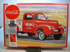 1940 WILLYS PICKUP TRUCK COCA COLA DRAGSTER AMT 1:25 SCALE PLASTIC MODEL CAR KIT