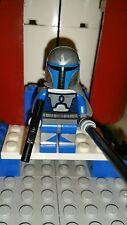 Lego Star Wars Mandolorian Death Watch Commander Pre Vizsla Custom Figure