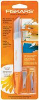 Fiskars Comfort Fabric Knife Rip Seams Cut Buttonholes Easy Blade Change