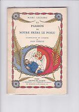 Notre Frère Le Poilu - Marc Leclerc illustré par LEON LEBEGUE - Avec L.A.S