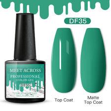 Meet Across Christmas Uv Gel Nail Polish Soak Off Manicure Green 35 Nails 6ml
