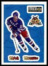 1996-97 Collector's Choice Stick'Ums  Mark Messier #S10