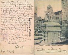 FIRENZE - LEONE DETTO IL MARZOCCO DI DONATELLO -    (rif.fg.11774)