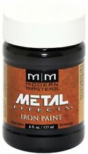 Iron Paint with Oxidized Metal Finish Water Based Formula 6 oz by Modern Masters