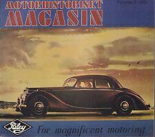 Motorhistoriskt Magasin Swedish Car Magazine #5 1983 Riley 031617nonDBE