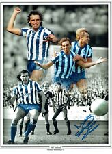 Mel STERLAND Signed Montage 16x12 Photo Sheffield Wednesday AFTAL COA