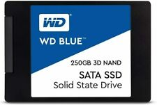 "WD Blue 3D NAND 250GB Internal PC SSD - SATA III 6 Gb/s, 2.5""/7mm, Up to 560 MB"