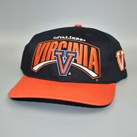 Virginia Cavaliers Twins Enterprise Vintage 90's Twill Snapback Cap Hat - NWT