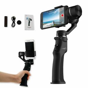 3-Axis Stabilizer Face Tracking Selfie Stick for iPhone GoPro 7 Action Cameras