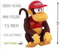 Nintendo Super Mario Diddy Kong Mini Figure 1.5 pouce Collectable