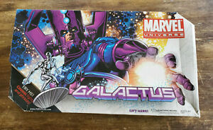 """Marvel Universe Galactus 19"""" Figure (2010) w/ Silver Surfer Box Fully Functional"""