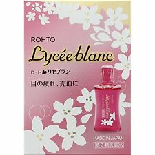 Rohto eyedrops Lyceeblanc 12mL from Japan air shipping eye drops