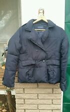 Down Coat/Peacoat sz.M Banana Republic Navy Blue daily outerwear winter jacket
