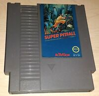 Super Pitfall Nintendo NES Vintage classic original retro game cartridge