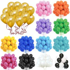 10Pcs Latex Balloons Set Kids Birthday Baby Shower Party Decor Wedding Supplies