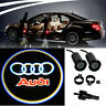 2 Audi Lamp LED Light Bulbs Projection Courtesy Lights Decorative Tuning Fashion
