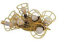 Elite 22m LED Bulb Festoon Lighting Kit 110v ES Fittings Site Trade Work Lights