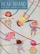Vtg Knitting Crochet Patterns Baby Child Coat Bonnet Shrug Snow Suit 1956 VTNS