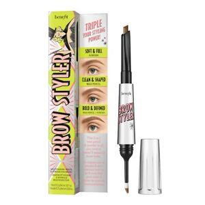 NIB Benefit Cosmetics Full Size Brow Styler Shade #3 Warm Light Brown $34!!