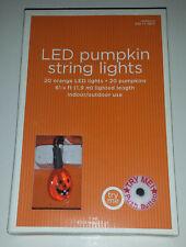 Target 2009 Halloween LED Pumpkin String Lights