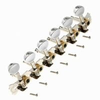 Acoustic Classical Guitar Tuning Pegs Keys Tuners Machine Heads 6R Inline Chrome